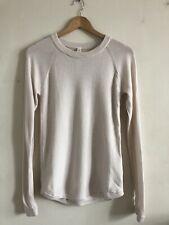 NWOT Lululemon Sweater Top Wool Ivory White Size 6