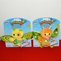 """Webkinz Zumbuddy Zana & Zoola Plush Toy W/ Code Tag 6"""" Stuffed Animal Ganz New"""