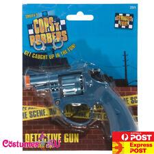 DETECTIVE POLICE COWBOY GANGSTER CAP PISTOL GUN REVOLVER ADULTS Kids 20s 1920s