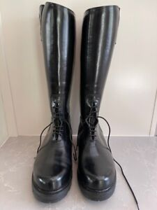 """Intapol """"Dehner"""" style Motorcycle Patrol Boots Size 11.5"""