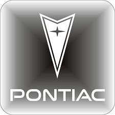 Vinyl sticker PONTIAC car logo Window Bumper laptop 14x13cm grand decal gto