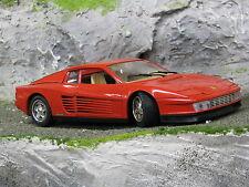 Bburago Ferrari Testarossa 1984 1:18 Red