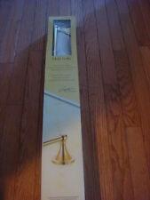 Gatco Hatton Polished Brass 24-in Towel Bar. Model:4770 New!