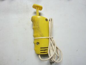 Used Vintage Revell 1/32 Scale Slot Car Controller Yellow #4338 (see picture)