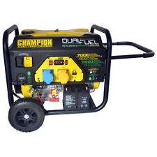 Petrol Generator Champion CPG7500E2 Dual Fuel 2.8kVA with Electric Start