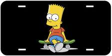 Bart Simpson Aluminum Novelty Tag Car License Plate