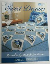 Quilt Patterns Book Sweet Dreams: Reversible Quilts & Coordinates Patchwork New