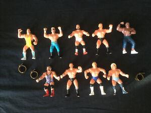 Lot Of Vintage 1990 WCW Galoob Wrestling Action Figures