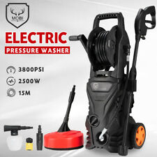 MOBI High Pressure Washer Cleaner Max 3800PSI 10M Hose Electric Water Gurney