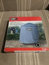 """Weber Charcoal Grill Cover 7451 Standard Kettle 22.5"""" (57cm) Gray 34""""x30"""""""