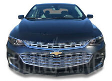 Chevy Malibu chrome mesh grille insert overlay grill 2016-2018