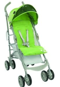 Graco Nimbly Pushchair Lightweight Baby Stroller Buggy - Melon with rain cover