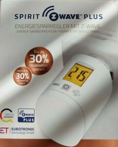 Spirit Z-Wave PLUS Thermostat mit OVP Eurotronic Smarthome
