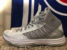 Nike Hyperdunk 2012 TB, 524882-007, Silver, Men's Basketball Shoes, Size 14.5