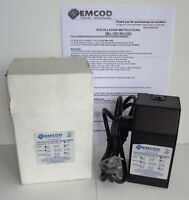 Emcod Low Voltage Indoor Lighting Transformer 120V TMC-150P with Power Cord