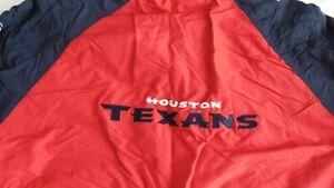 Houston TEXANS Reebok Reversible Hooded Fleece Jacket Adult XX-LARGE NFL ZIP UP