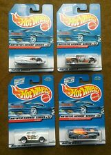 HOT WHEELS Lot of (4) 1998 ARTISTIC LICENSE SERIES Complete Set