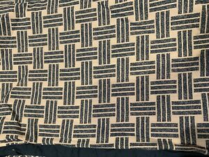 Garment Washed Printed Reversible Full / Queen Duvet Cover Navy / Gray / $80