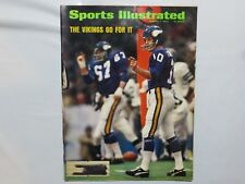 Sports Illustrated Jan 7 1974 The Vikings Go For It - Fran Tarkenton U5