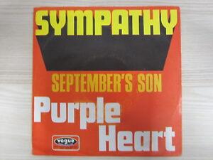 Single / Purple Heart – Sympathy /  Psychedelic Rock, Prog Rock, Beat  / RAR /