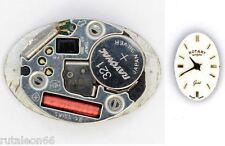 ROTARY  original quartz watch movement eta 901.005  UNTESTED   (3021)