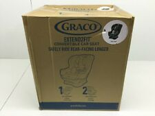 Graco Extend2Fit Convertible Car Seat, Ride Rear Facing with Extend2Fit, Gotham