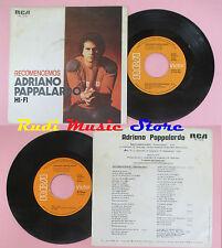 LP 45 7'' ADRIANO PAPPALARDO Recomencemos Hi-fi 1979 spain RCA PB 6376 cd mc dvd