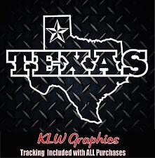 Texas * Sticker Decal America Car Family Dallas Diesel Truck  Crew Cab 1500 2500