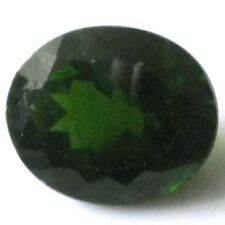 NATURAL OVAL CUT GREEN CHROME DIOPSIDE UNHEATED LOOSE STONE 12 x 10 mm - 5.31 CT
