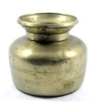 Indian Antique Unique German Silver Water Pot /Vessel/ Lota. G56-105 US