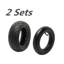 2x Pocket bike Rear Tire & Inner tube 110/50-6.5 47c MTA1, MTA2, 39cc MTA4 bike