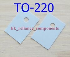 50 pcs Heat Sink Pad TO-220 13x18mm Transistor Insulator Silicone Rubber Sheet