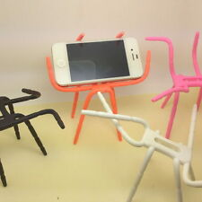"""Bicycle Desk Car Spider Flexible Grip Holder Stand Mount for 3.5-5.5"""" Cell Phone"""