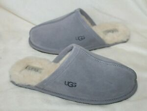 NIB UGG Women's Pearle Suede Shearling Slip On Slippers Lilac 8 9 10 11