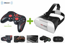 UK STOCK -Virtual Reality Head Gear + Bluetooth Gamepad - Cheap VR Experience