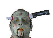 Novedad broma Zombie Cuchillo thro Cabeza GAG Truco Party favor favor
