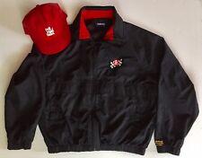 Vintage 1995 Red Roof Inns Rahal - Hogan Racing Large Jacket & Signed Boesel Hat