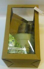 (RO) Green Tin Planter garden set - Christmas Gift