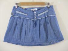 Ripcurl mini skirt. Denim blue.Light. 100% cotton. UK S. Festival.Holiday.Summer