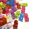 50/100pcs Mix Kid's Plastic Buttons Sewing/Appliques/Baby's Crafts PT157
