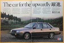 Magazine Print Ad 1986 Dodge Colt