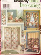 Home Decor Pattern bathroom Shower Curtain tp holder
