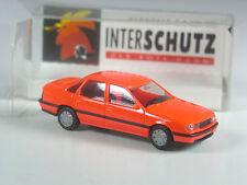 TOP: Herpa Werbemodell Opel Vectra leuchtorange Interschutz 1994 Hannover in OVP