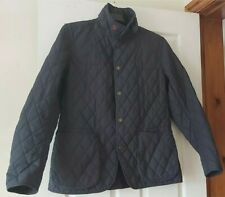Men's Barbour Chelsea Quilted Jacket, Size Medium in Black