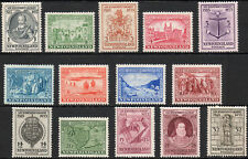 Newfoundland 1933 KGV set of mint stamps value to 32 cents  Mint Hinged