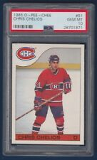 CHRIS CHELIOS 85-86 O-PEE-CHEE 1985-86 NO 51 PSA 10 16416