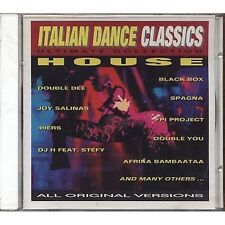 BLACK BOX DOUBLE YOU SPAGNA F.P.I. PROJECT ALBERTINO CD 1994 ITALO DANCE SEALED