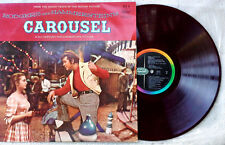 RODGERS & HAMMERSTEIN - CAROUSEL -  CAPITOL LP - JAPAN PRESSING - RED VINYL