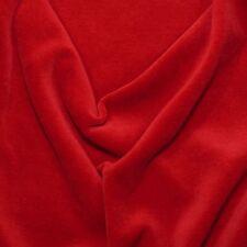 Weicher Bio Nicki samtrot rot Lebenskleidung