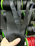 2y Black Faux-Leather-Bias-Binding-Tape-Belt Trimming-Craft-Sewing 1.2/2/3/4/5cm